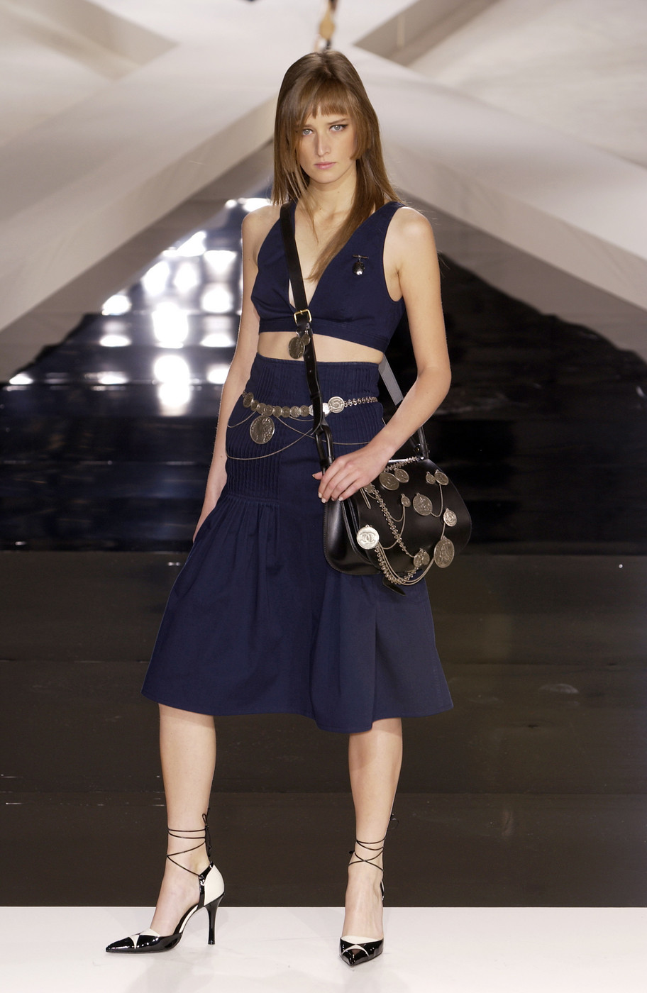 Chanel At Paris Fashion Week Spring 2003