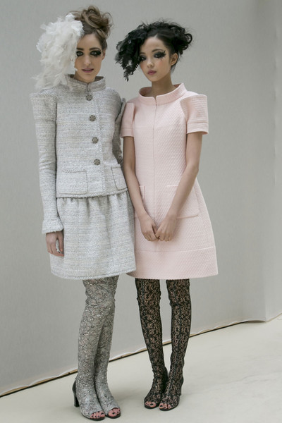 Chanel at Couture Spring 2013 (Backstage)