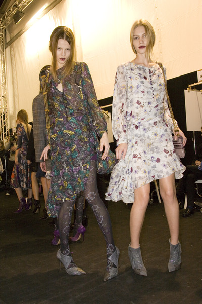 Chloé at Paris Fall 2008 (Backstage)