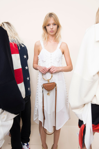 Chloé at Paris Spring 2017 (Backstage)
