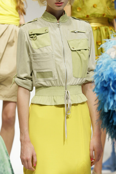 Chris Benz at New York Spring 2010 (Details)
