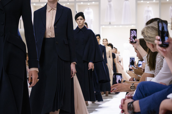 Christian Dior at Couture Fall 2018