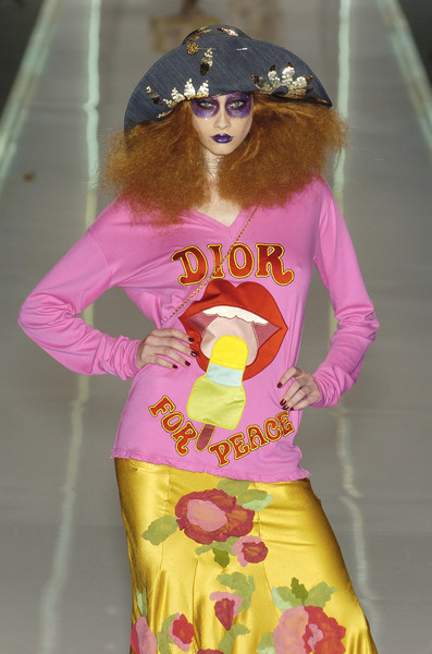 Christian Dior at Paris Spring 2005 [clothing,pink,fashion,yellow,dress,street fashion,fashion design,outerwear,costume,sleeve,dress,christian dior,fashion,haute couture,street fashion,runway,yellow,fashion design,paris fashion week,fashion show,fashion,dior,paris fashion week,fashion show,ready-to-wear,haute couture,runway,spring 2004 dior couture collection,spring]