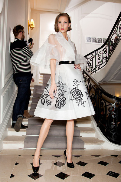 Christian Dior at Couture Spring 2012 (Backstage)