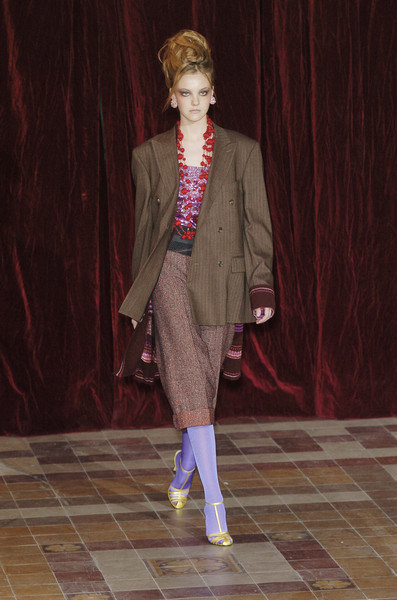 Christian Lacroix at Paris Fall 2004