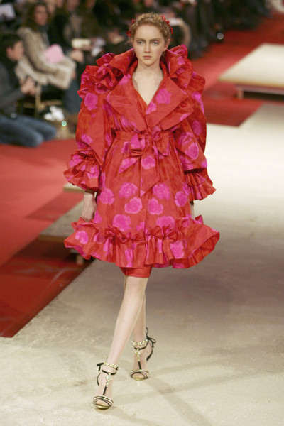 Christian Lacroix at Couture Spring 2006