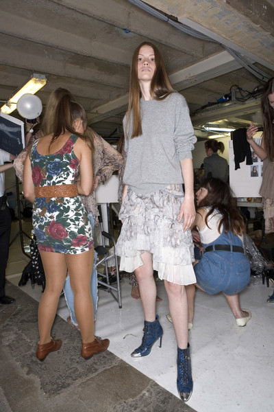 Christopher Kane at London Spring 2008 (Backstage)