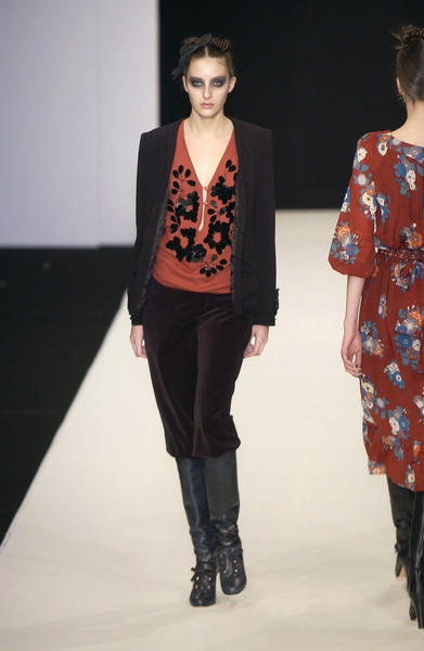 Clements Ribeiro at London Fall 2005