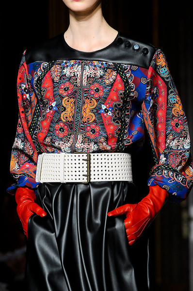 Clements Ribeiro at London Fall 2012 (Details)