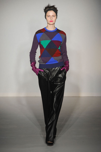 Clements Ribeiro at London Fall 2012
