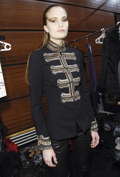 Collette Dinnigan at Paris Fall 2008 (Backstage)