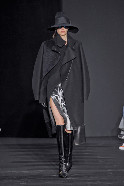Costume National at Paris Fall 2012