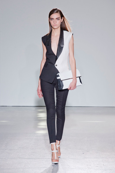 Costume National at Paris Spring 2013