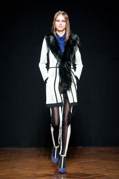 Cristiano Burani at Milan Fall 2012