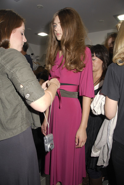 DKNY at New York Spring 2008 (Backstage)