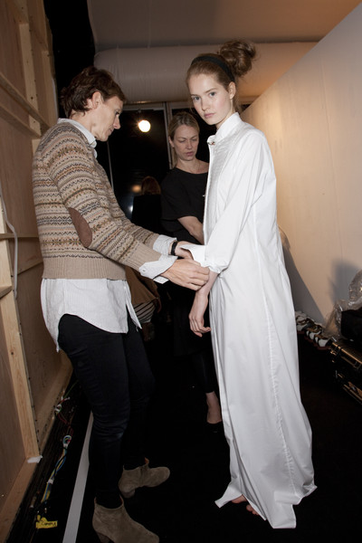Daks at London Spring 2011 (Backstage)