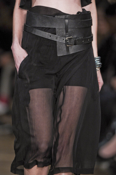 Damir Doma at Paris Spring 2011 (Details)