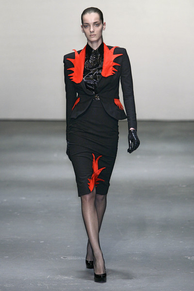 Danielle Scutt at London Fall 2009