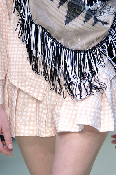 Danielle Scutt at London Spring 2010 (Details)