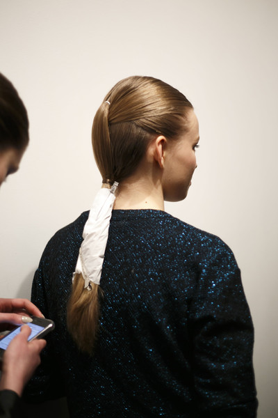 David Koma at London Fall 2014 (Backstage)