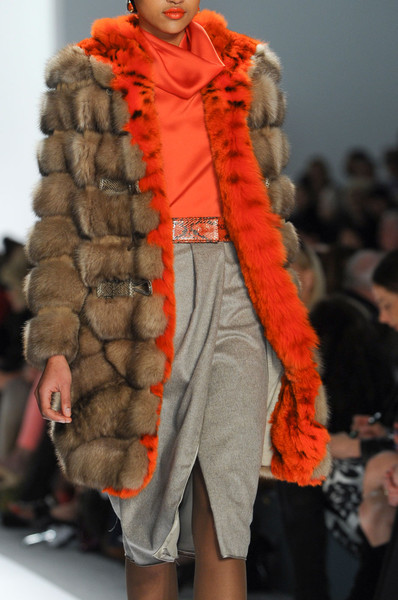 Dennis Basso at New York Fall 2012 (Details)