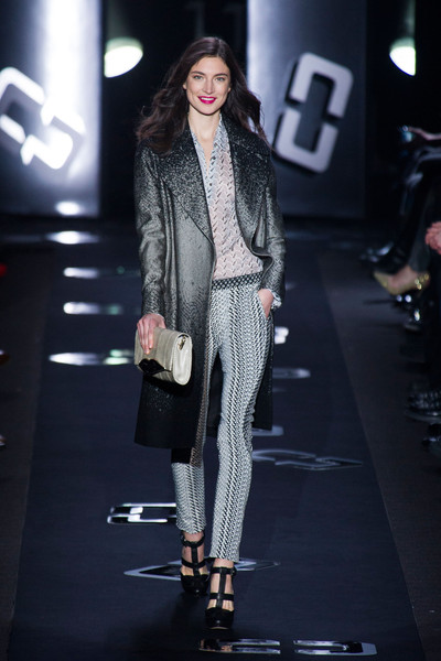 Diane von Furstenberg at New York Fall 2013