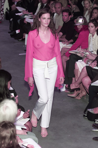 Diane von Furstenberg at New York Spring 2001