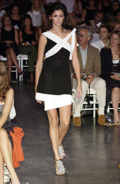 Diane von Furstenberg at New York Spring 2003