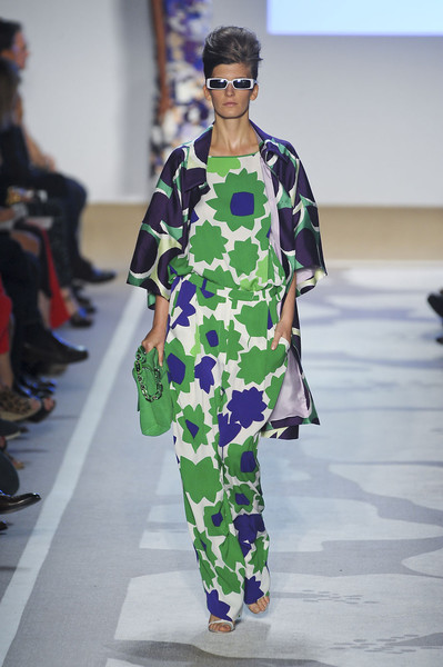Diane von Furstenberg at New York Spring 2012