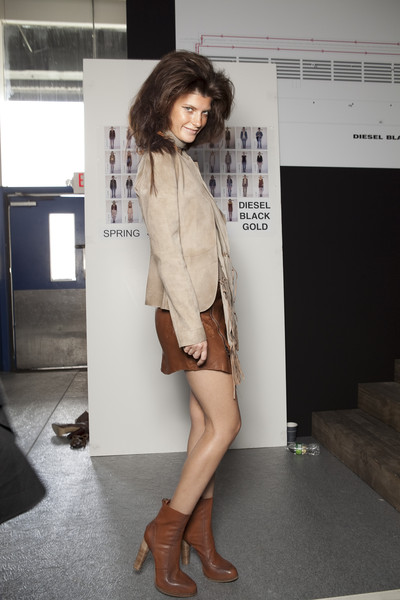 Diesel Black Gold at New York Spring 2011 (Backstage)