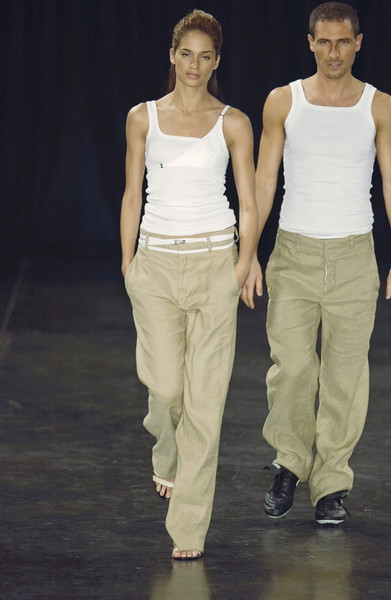 Dirk Bikkembergs at Paris Spring 2002