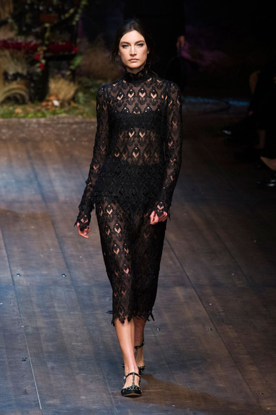 Dolce & Gabbana at Milan Fall 2014