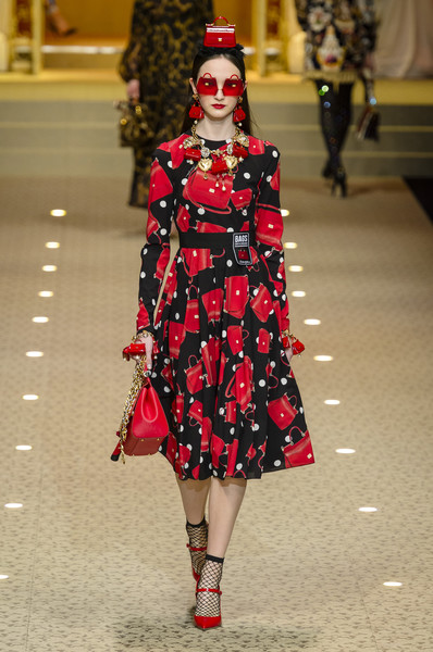 Dolce & Gabbana At Milan Fashion Week Fall 2018