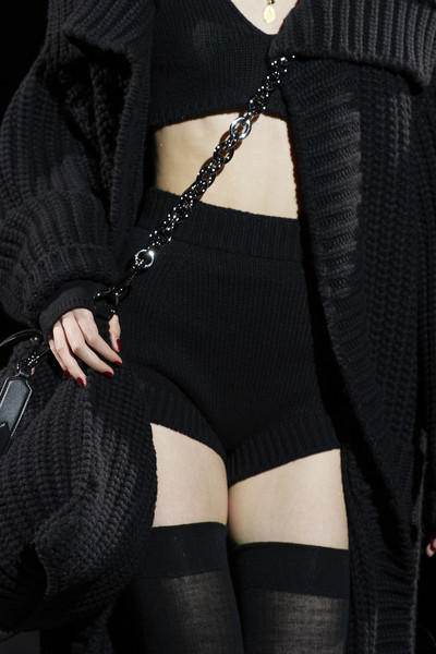 Dolce & Gabbana at Milan Fall 2020 (Details) [clothing,black,garter,stocking,waist,tights,leg,thigh,shoulder,outerwear,fashion runways,fashion,fashion week,vogue,stocking,waist,tights,milan,dolce gabbana,milan fashion week,fashion,milan fashion week 2020,milan,fashion runways,fashion week,vogue italia,vogue,runway,life]