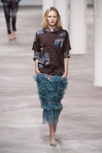 Dries Van Noten at Paris Spring 2013