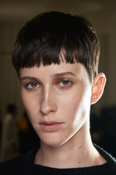 Drome at Milan Spring 2021 (Backstage) [face,hair,hairstyle,eyebrow,forehead,chin,head,nose,cheek,lip,kerr logan,forehead,face,brown hair,wiki,pixie cut,bangs,eyebrow,drome,milan fashion week,kerr logan,bangs,game of thrones wiki,face,northern ireland,forehead,pixie cut,brown hair,fandom]