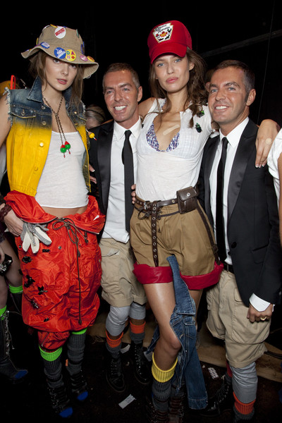 Dsquared² at Milan Spring 2010 (Backstage)