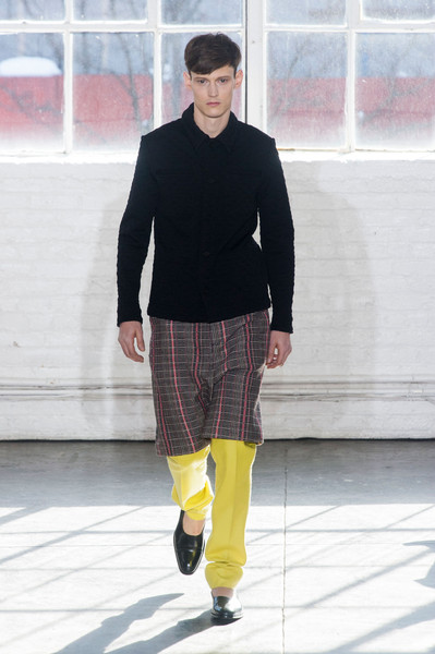 Duckie Brown at New York Fall 2014