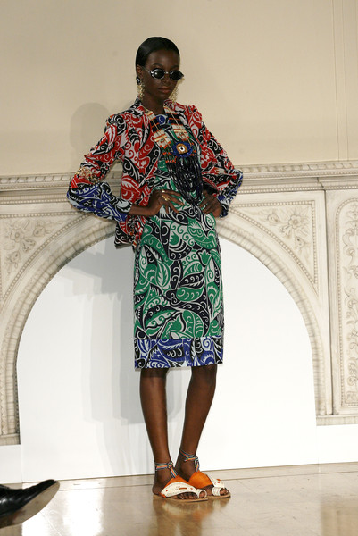 Duro Olowu at London Spring 2009