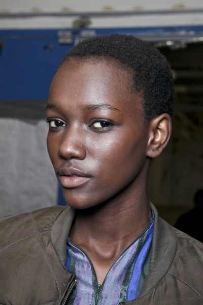 Edun at New York Fall 2011 (Backstage)