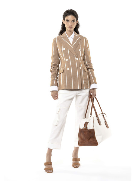 Eleventy at Milan Spring 2021 [clothing,brown,beige,fashion model,fashion,outerwear,neck,trousers,shoulder,sleeve,outerwear,t-shirt,fashion,eleventy,fashion week,spring,beige,fashion model,chanel,milan fashion week,chanel,ready-to-wear,milan fashion week,fashion week,t-shirt,fashion,2021,eleventy,spring,fashion show]