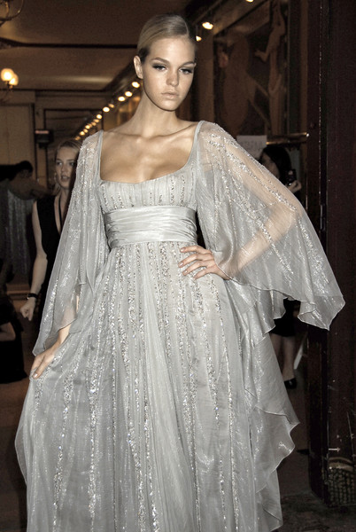 Elie Saab at Couture Fall 2007 (Backstage)