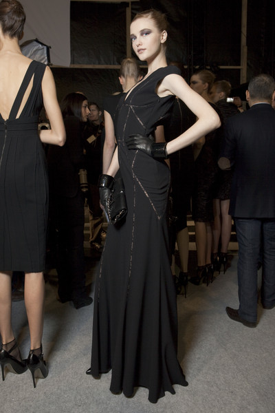 Elie Saab at Paris Fall 2010 (Backstage)