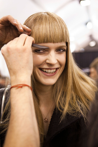 Elie Saab at Paris Fall 2012 (Backstage)