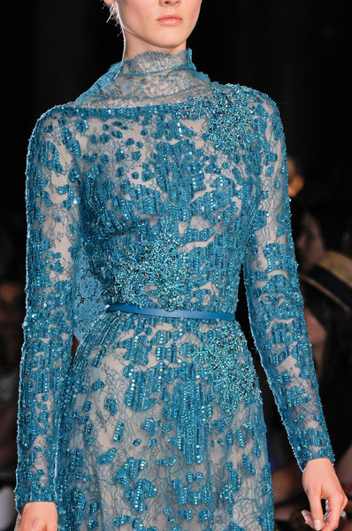 Elie Saab Couture Details, Fall 2012