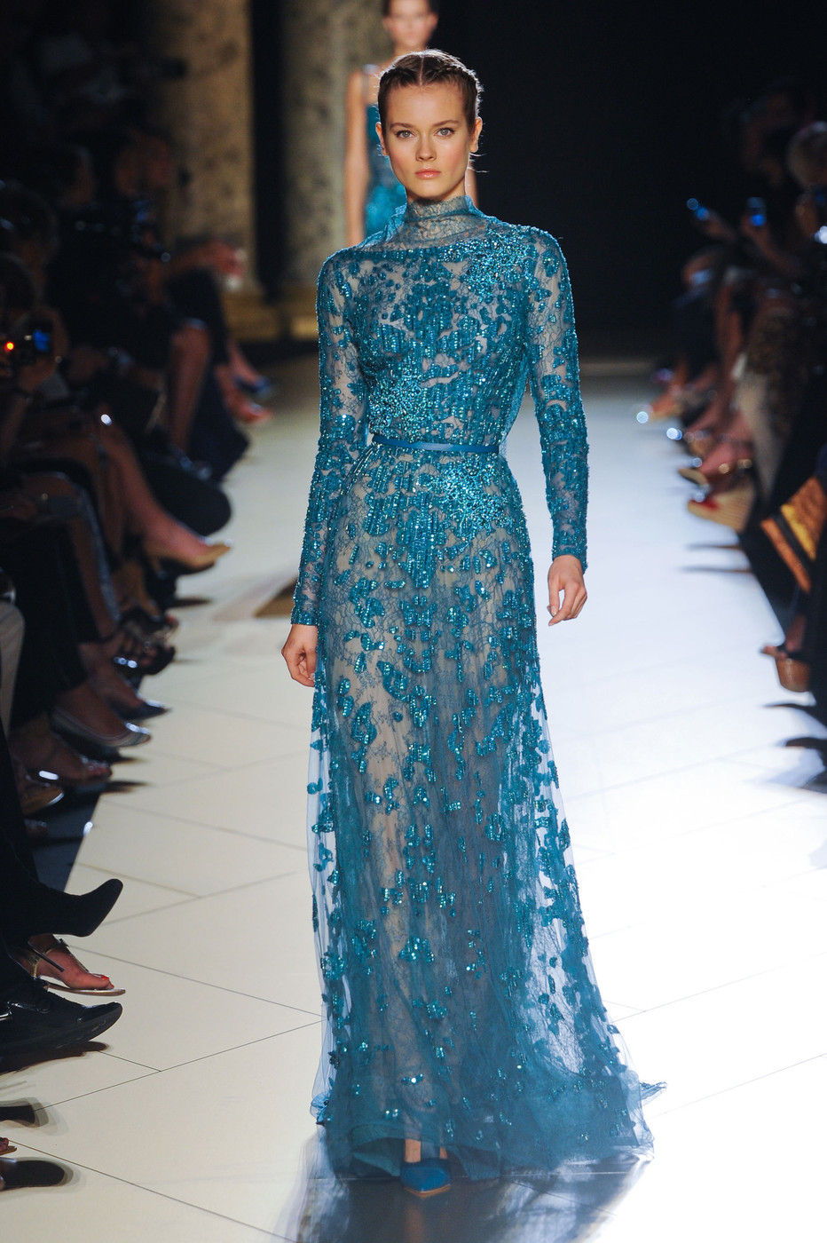 2012 Fall 2013 Winter Nail Polish Trends: Elie Saab At Couture Fall 2012