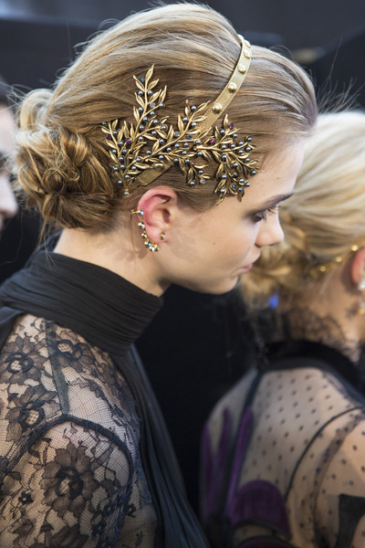 Elie Saab at Paris Fall 2017 (Backstage) [hair,hairstyle,headpiece,beauty,blond,hair accessory,fashion,human,headgear,interaction,fashion accessory,hair accessory,fashion,hair,hairstyle,head hair,haute couture,elie saab,elie saab,paris fashion week,elie saab,paris fashion week,hairstyle,fashion,fashion accessory,hair,head hair,haute couture,hair jewellery,runway]