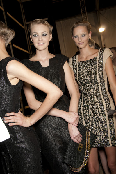 Elie Saab at Paris Spring 2010 (Backstage)