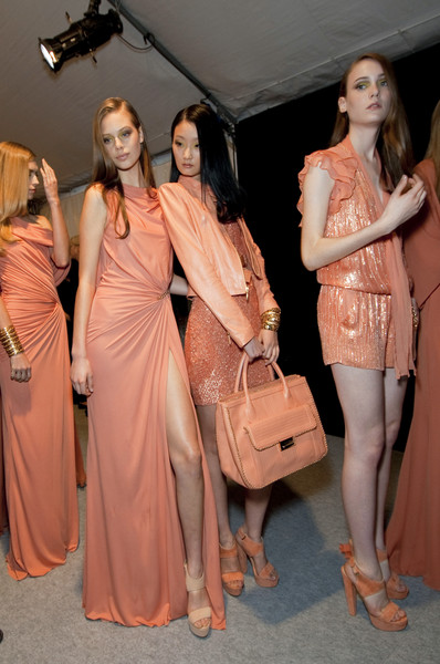 Elie Saab at Paris Spring 2011 (Backstage)