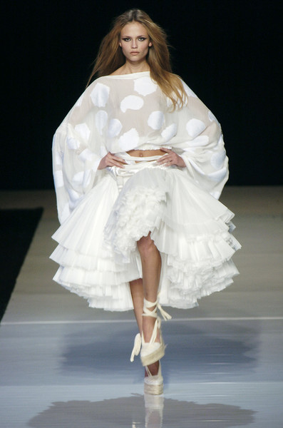 Emanuel Ungaro at Paris Spring 2005